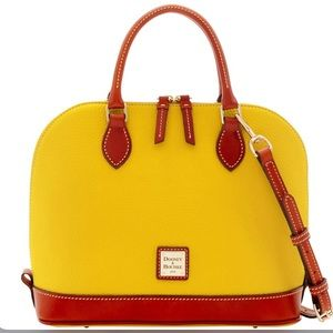 NEW! Dooney and Bourke Satchel Yellow